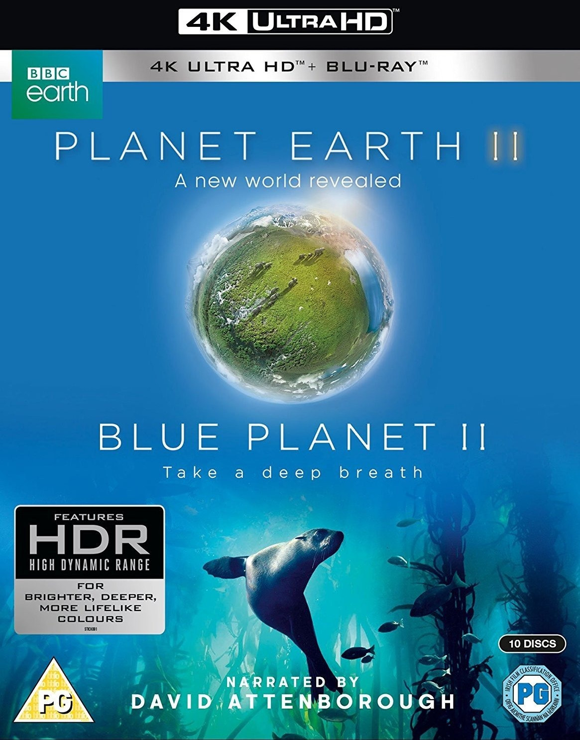 Image of Planet Earth II & Blue Planet II Box Set (4K Blu-ray] [2017]