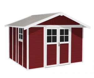 Grosfillex Deco 11 315 x 355 cm rot-weiß