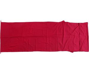 Basic Nature Baumwoll Inlett Innenschlafsack Deckenform anthrazit