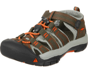 781018305776c Keen Newport H2 Kids dark earth spicy orange ab 36
