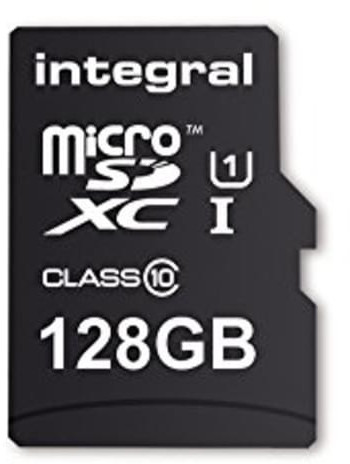 Image of Integral Smartphone and Tablet microSDXC Class 10 UHS-I U1 - 128GB (INMSDX128G10-SPTOTGR)