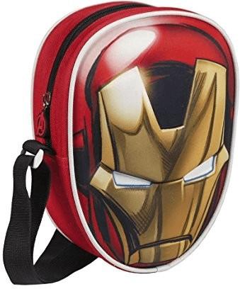 Marvel Avengers Iron Man 3D Oval Shoulder Bag