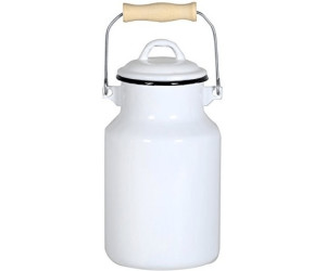Riess Milchkanne 1,5 l hellblau Emaille Email