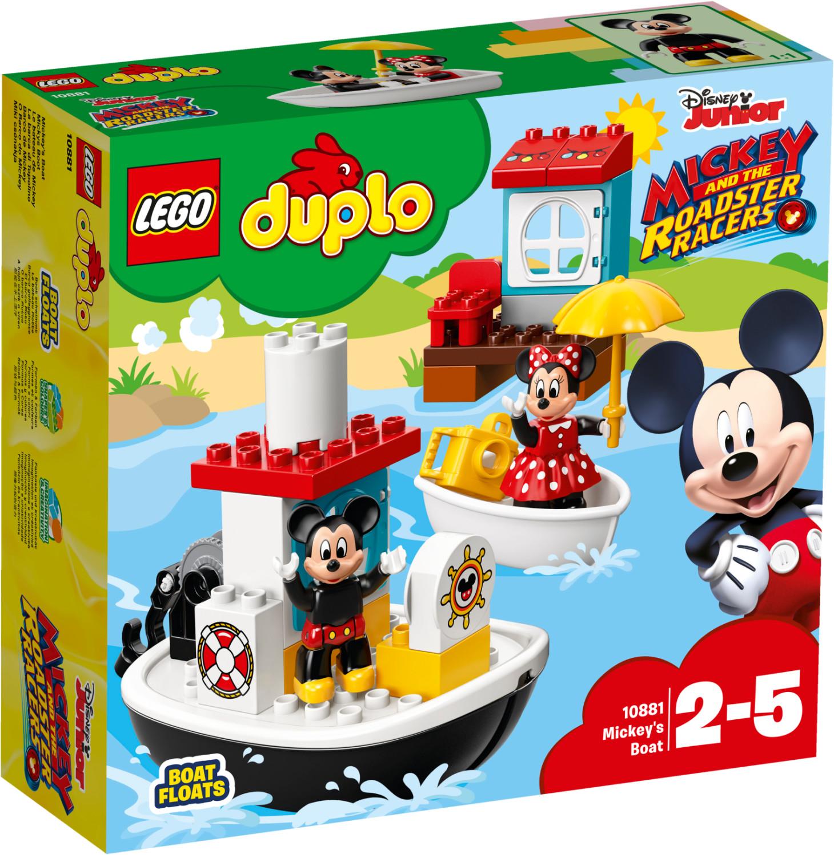 LEGO Duplo - Le bateau de Mickey (10881)