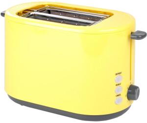 2-Scheiben-Toaster gelb 800 W Efbe-Schott Toaster gelb Brotröster NEU*16224