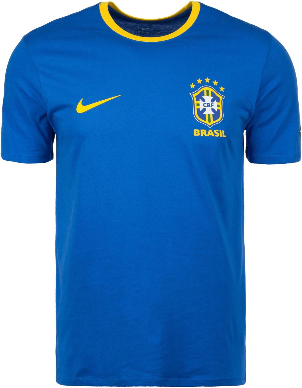 Nike Brasil Crest Tee blue WM 2018 blue