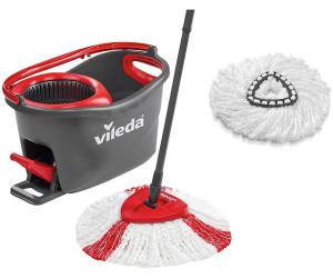 Vileda Easywring Clean Turbo Komplett Set Mit Ersatzkopf 153095