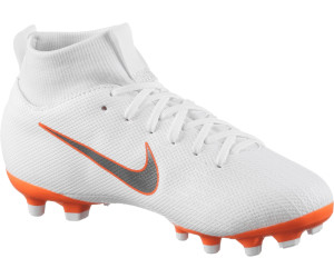 best service 44e4e 1a52c Nike Jr Mercurial Superfly VI Academy MG GS Youth white mtlc cool  grey-total orange