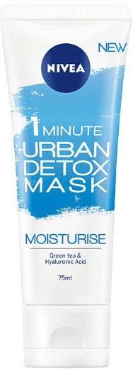 Urban Skin Detox 1 Minuto mascarilla facial NIVEA transparente 75M