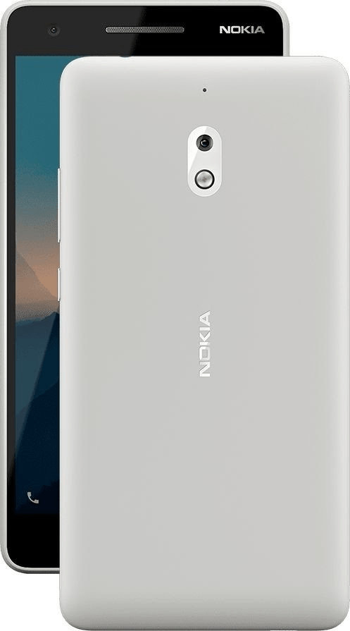 Nokia 2.1 grau/silber