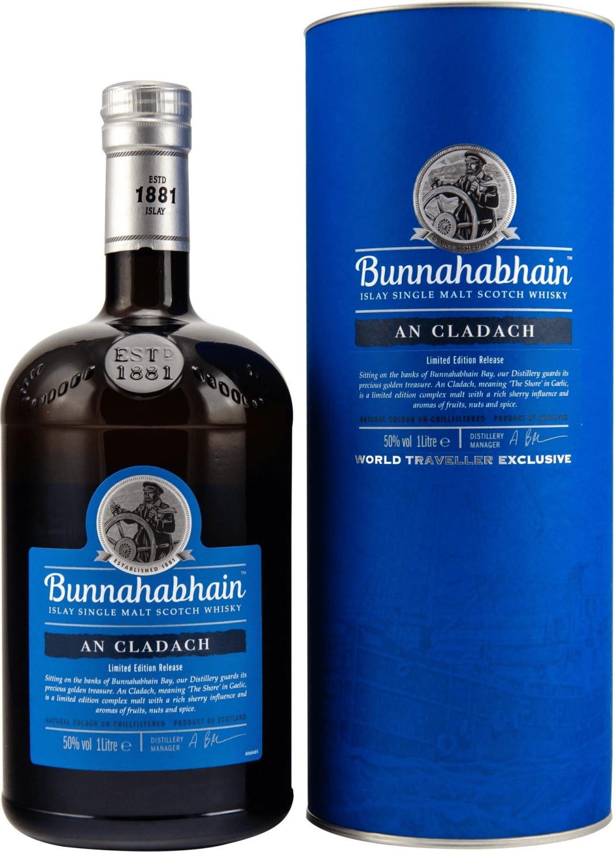 Bunnahabhain AN CLADACH Limited Edition Release +GB 1,0l 50%