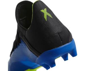 adidas X 18.3 FG J Kids Blau Gelb