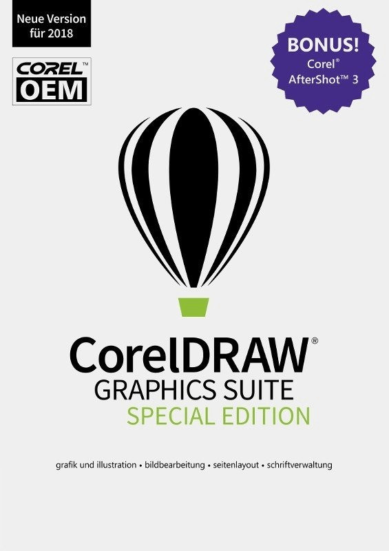 Corel CorelDRAW Graphics Suite 2018 Special Edi...