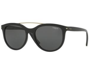 VOGUE Vogue Damen Sonnenbrille » VO5134S«, schwarz, W44/87 - schwarz/grau
