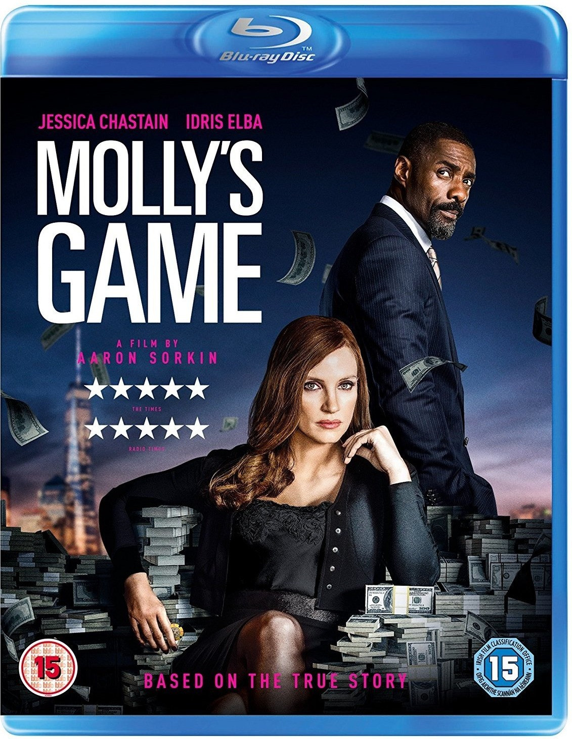 Image of Molly's Game [Blu-ray] [2018]
