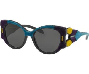 PRADA Prada Damen Sonnenbrille » PR 10US«, lila, N5B5S0 - lila/grau