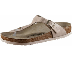 Birkenstock Gizeh Veloursleder Washed Metallic ab 67,95
