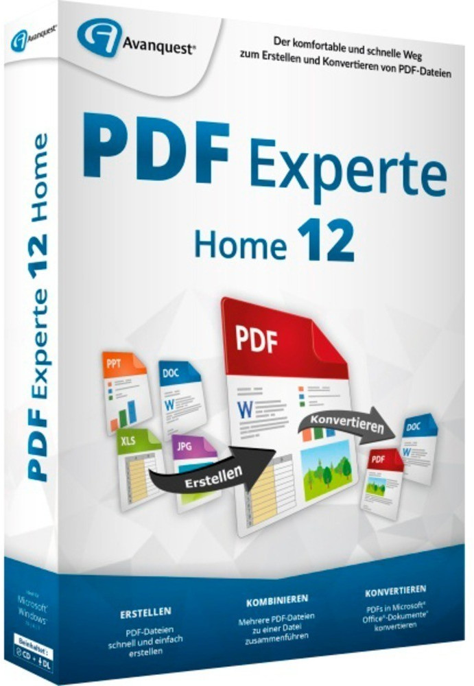 Image of Avanquest eXpert PDF 12 Home
