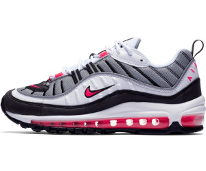 Nike Wmns Air Max 98 in White Solar Red Dust Reflect