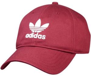 3bcd199e246 Buy Adidas Trefoil Classic Cap collegiate burgundy white from £13.63 ...