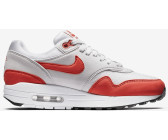 the latest a5cdf 28c9b Nike Air Max 1 Wmns vast greyhabanero red