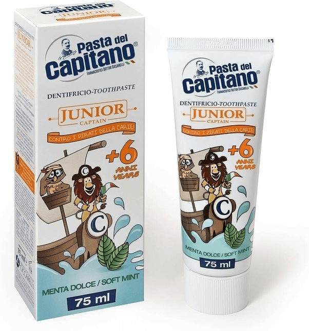 Pasta del Capitano Junior Zahnpasta Soft Mint (...