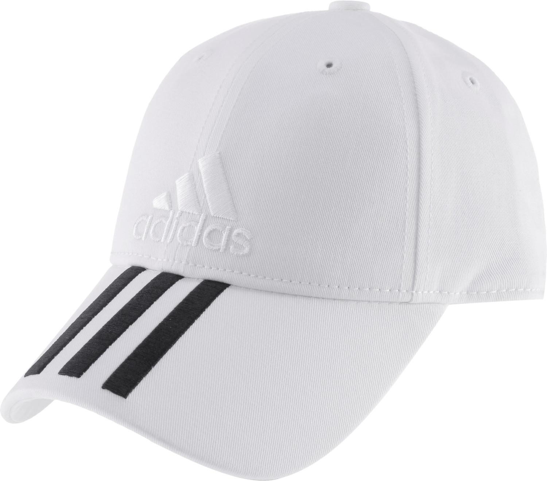 Adidas Six-Panel Classic 3-Stripes Cap white/black