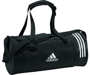 4b9a93d9707a3 Adidas Convertible 3-Stripes Duffelbag M black white white (CG1533 ...