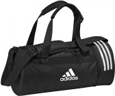 872cfdbe6bf14 Adidas Convertible 3-Stripes Duffelbag S black white (CG1532)
