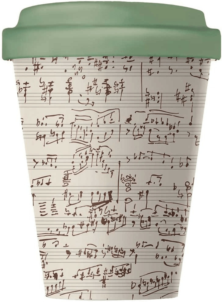 Chic.mic BambooCup Travel Mug 400 ml Music Notes