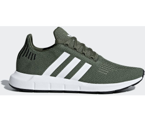 78ae3d9845ee9 Buy Adidas Swift Run W base green ftwr white core black from £74.90 ...