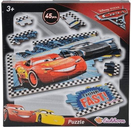 Eichhorn Cars 3 Formpuzzle