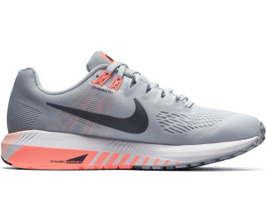 Nike Air Zoom Structure 21 wolf graypure platinumcrimson