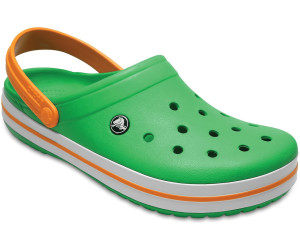 1f25a46ce587bb Crocs Crocband grass green white blazing orange ab 22