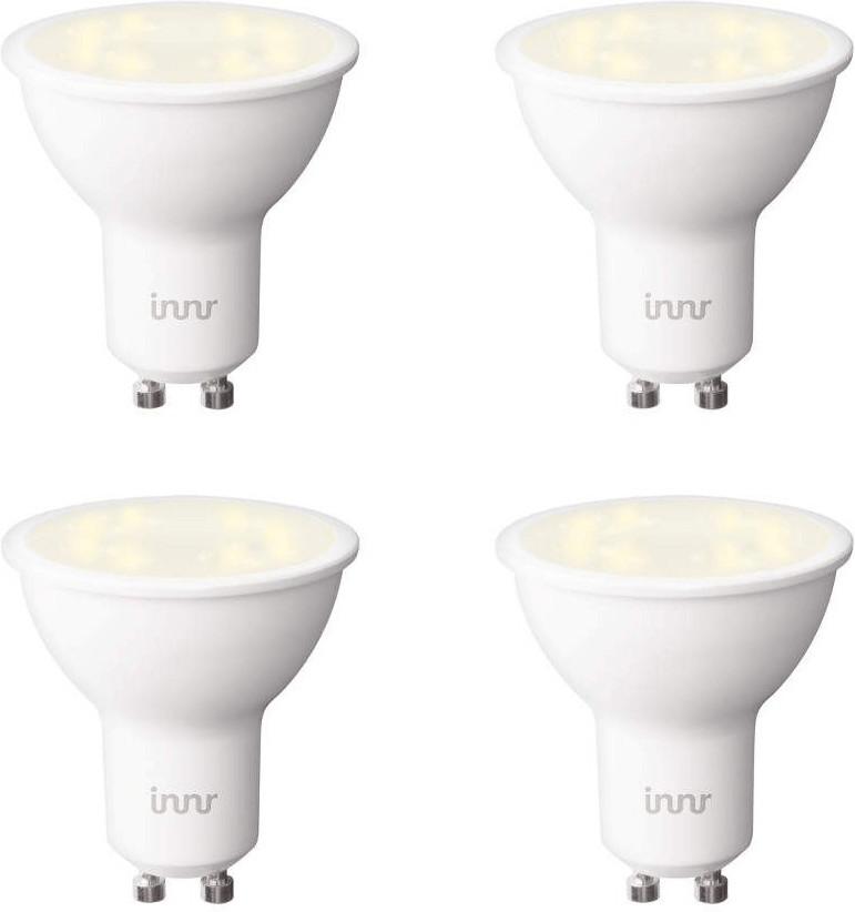 innr LED Smart Retrofit Tunable 5,4W GU10 4er-Pack