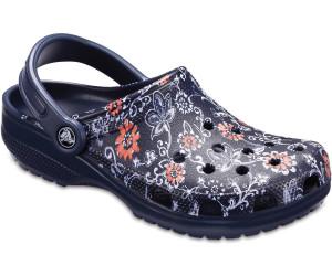 Crocs - Classic Graphic Clog - Sandalen Gr M9 / W11 blau I8j6b