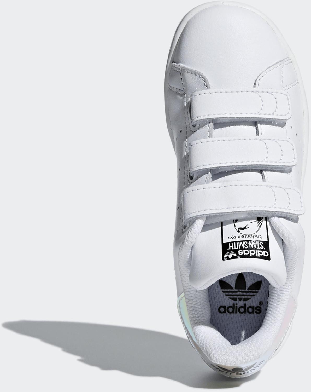 Adidas Stan Smith CF White/Green | S75187 - Naked
