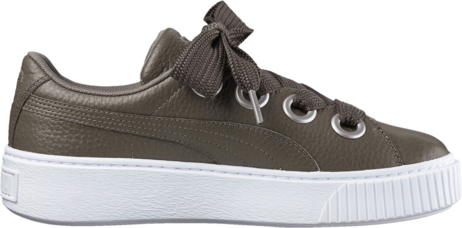Puma Puma Platform Kiss Leather Wmns bungee cord
