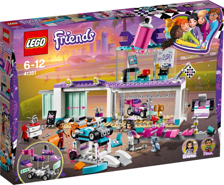 LEGO Friends - L'atelier de customisation de kart (41351)