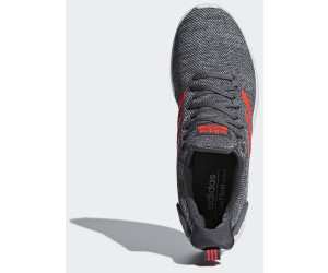 cute authorized site sale Adidas Cloudfoam Lite Racer BYD grey five/solar red/ftwr ...