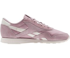 Reebok Damen Classic Leather Nylon Sneaker