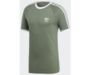 adidas vintage tee t-shirts uomo white/black l