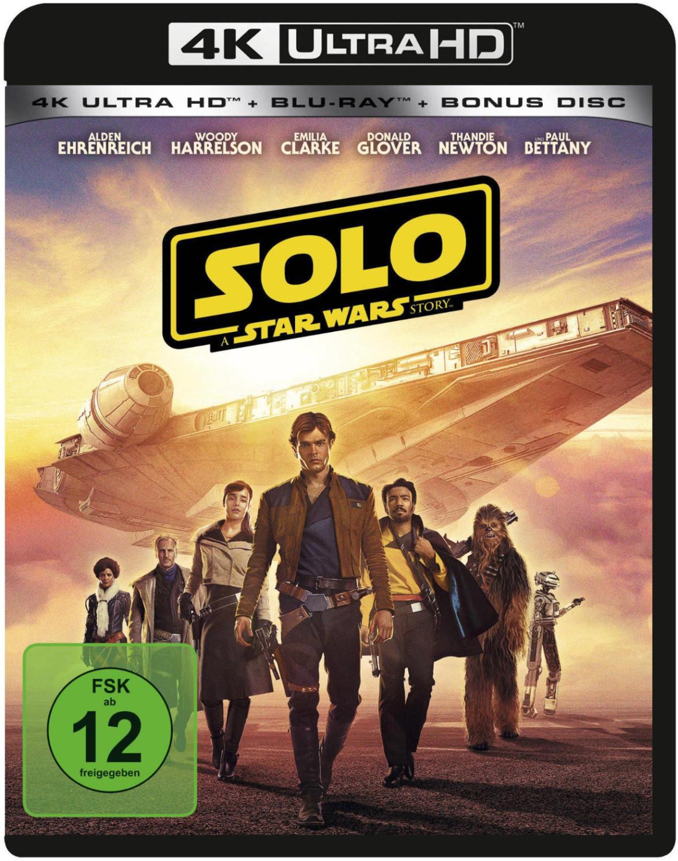 Solo - A Star Wars Story (4K Ultra HD) [Blu-ray]