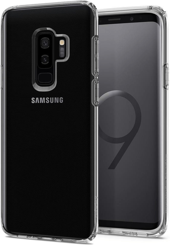 Spigen SGP Liquid Crystal Funda para Samsung Galaxy S9 Plus - Transparente