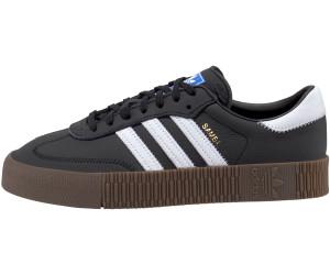 Sneakers Sambarose mit Plateau Sohle WeißSchwarz