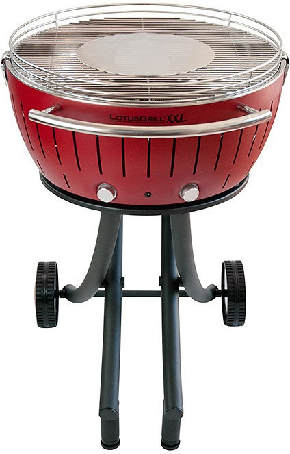 BARBECUE À CHARBON 60 CM ROUGE LG RO 600 LOTUSGRILL