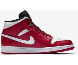 ba303630226 Nike Air Jordan 1 Mid gym red black white au meilleur prix sur idealo.fr