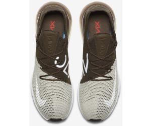 Helpful Nike Air Max 270 Flyknit Light Bone White Dark Hazel