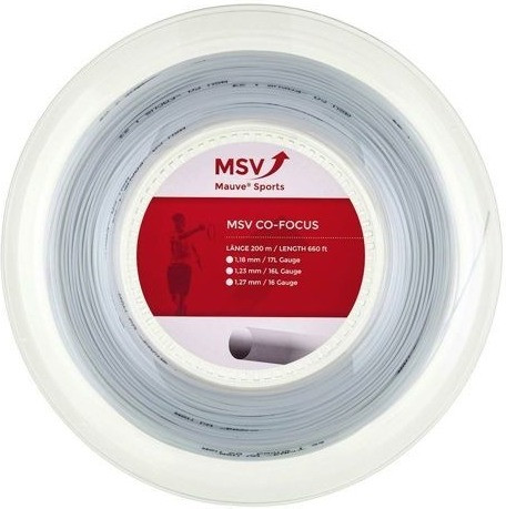 MSV Mauve Sport Co Focus - 200m 1,23mm white