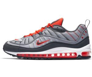 Nike Air Max 98 wolf greytotal crimsonhabanero reddark